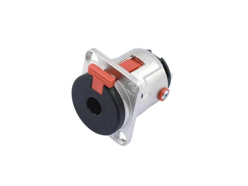 Neutrik Jack 6,3mm zásuvka na zabudování NJ3FP6C