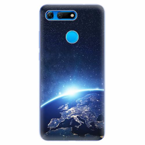 Silikonové pouzdro iSaprio - Earth at Night - Huawei Honor View 20