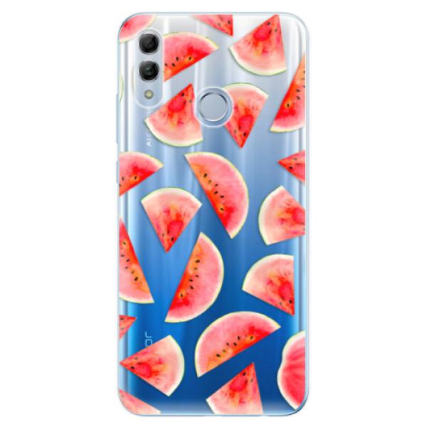 Odolné silikonové pouzdro iSaprio - Melon Pattern 02 - Huawei Honor 10 Lite