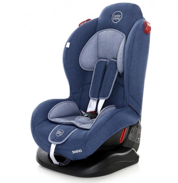 Autosedačka Coto Baby Swing 9-25kg, 2020 - tm. modrá, melír