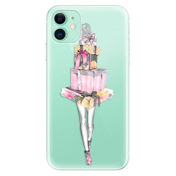 Odolné silikonové pouzdro iSaprio - Queen of Shopping - iPhone 11