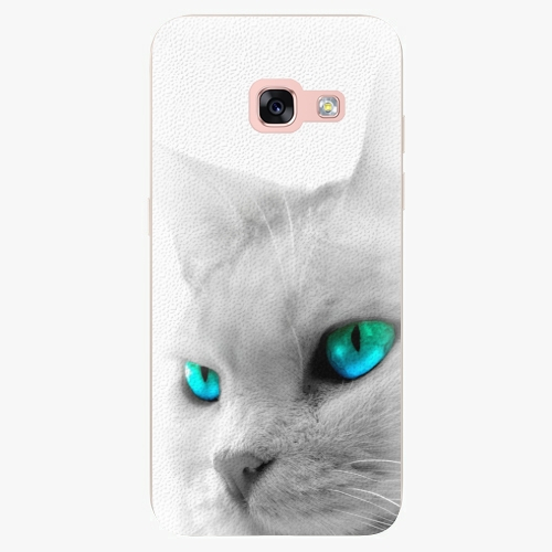 Plastový kryt iSaprio - Cats Eyes - Samsung Galaxy A3 2017
