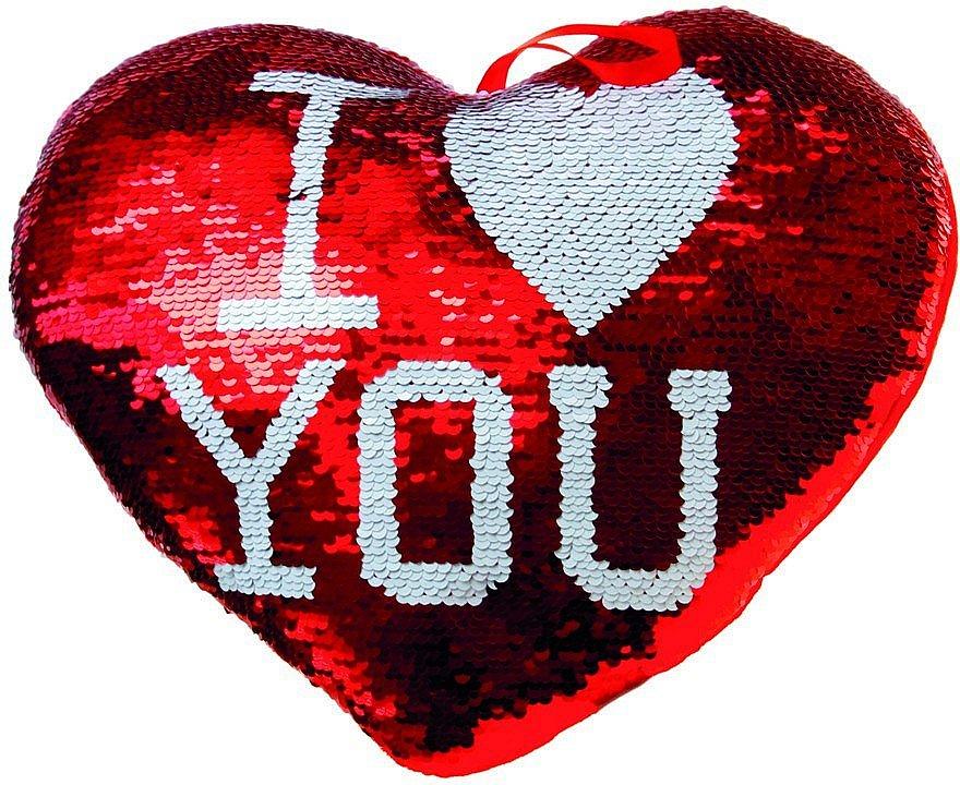 Polštář - srdce s filtry - velký 30 cm
