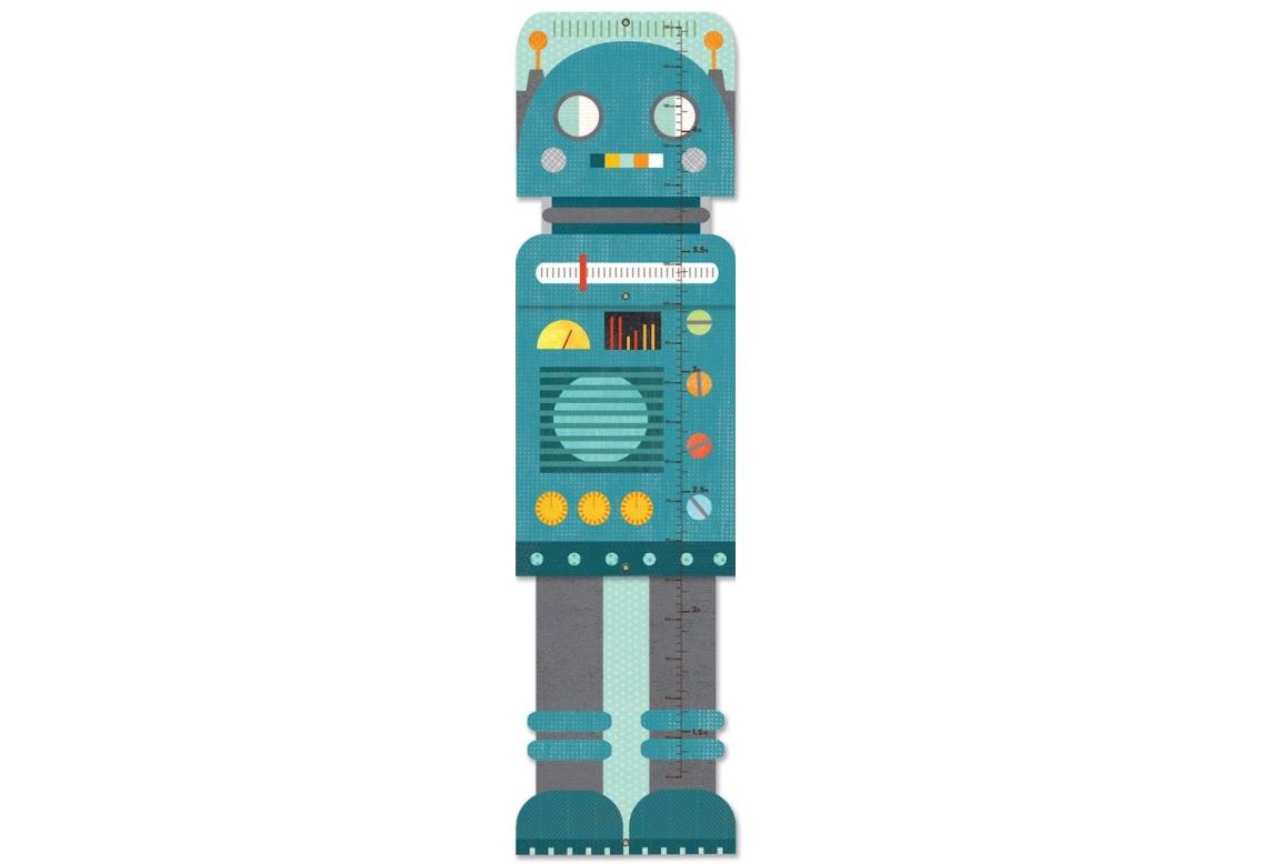 Petit Collage Rostoucí metr modrý robot