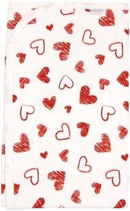 Mamatti Dětská deka, dečka Heart 80x90 - bavlna