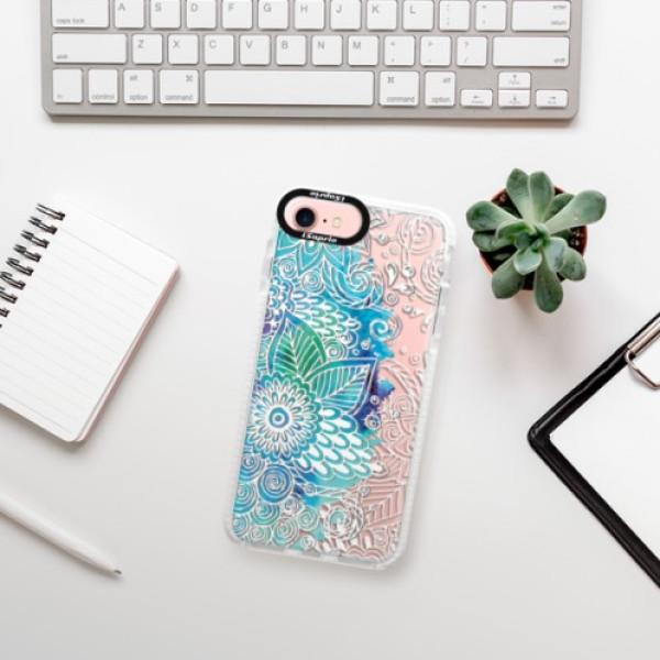 Silikonové pouzdro Bumper iSaprio - Lace 03 - iPhone 7