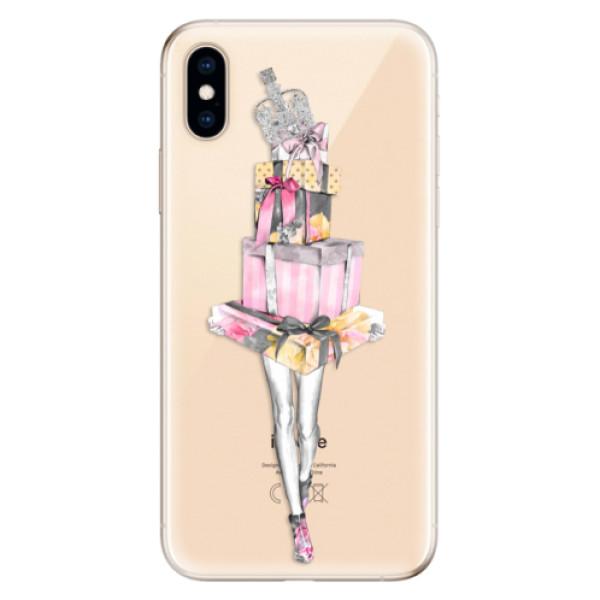 Odolné silikonové pouzdro iSaprio - Queen of Shopping - iPhone XS