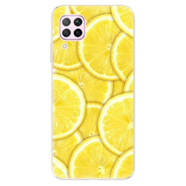 Odolné silikonové pouzdro iSaprio - Yellow - Huawei P40 Lite