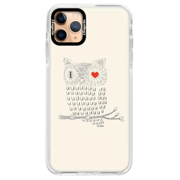 Silikonové pouzdro Bumper iSaprio - I Love You 01 - iPhone 11 Pro Max