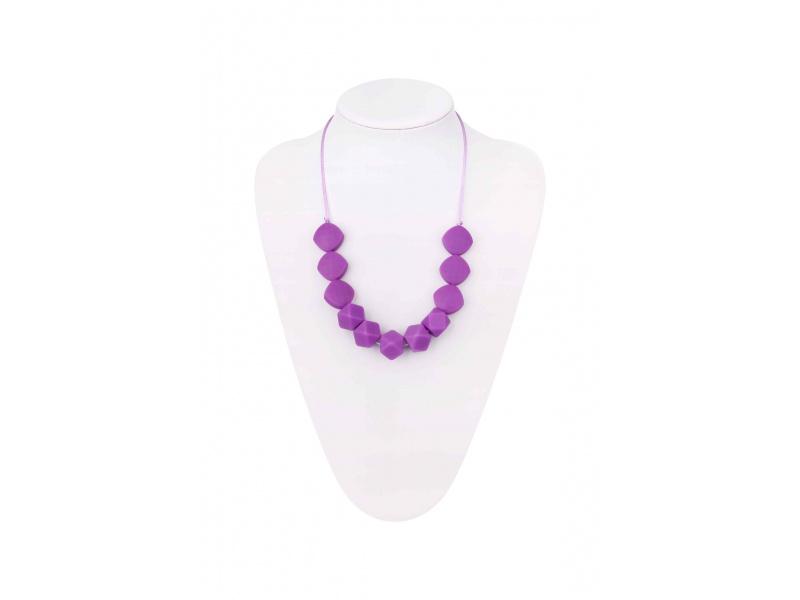 MIMIKOI - Kojící korále fialové kameny