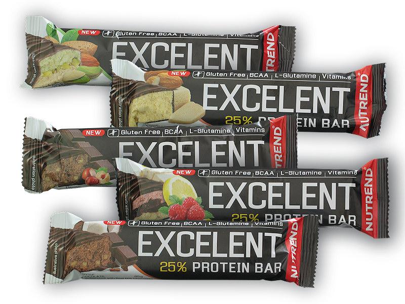 Excelent 25% Protein Bar 85g gluten