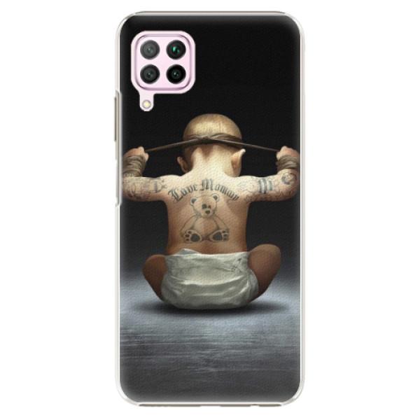 Plastové pouzdro iSaprio - Crazy Baby - Huawei P40 Lite
