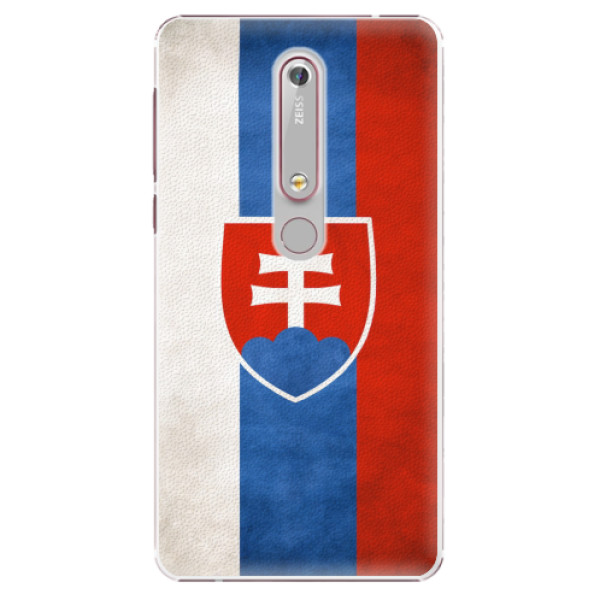 Plastové pouzdro iSaprio - Slovakia Flag - Nokia 6.1