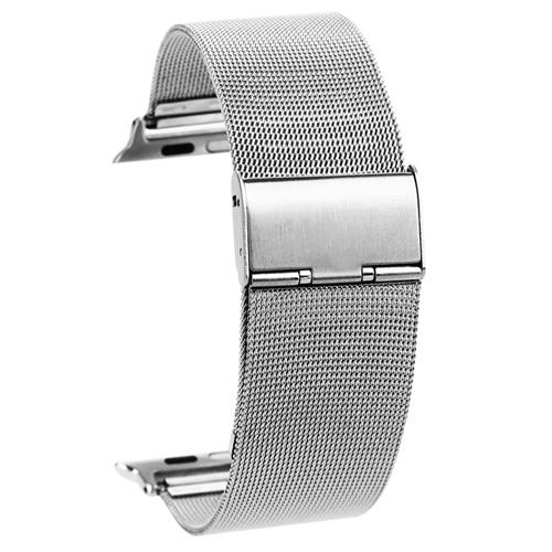 Kovový pásek / řemínek iSaprio Milanese Classic pro Apple Watch 42mm