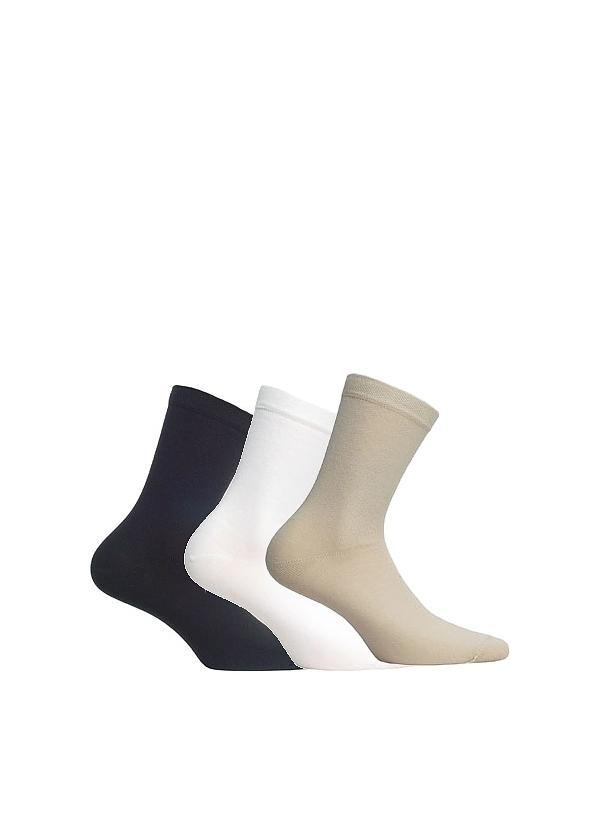 Ponožky Perfect Woman W84004 - Wola - Béžová/36/38