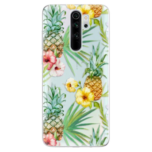 Odolné silikonové pouzdro iSaprio - Pineapple Pattern 02 - Xiaomi Redmi Note 8 Pro
