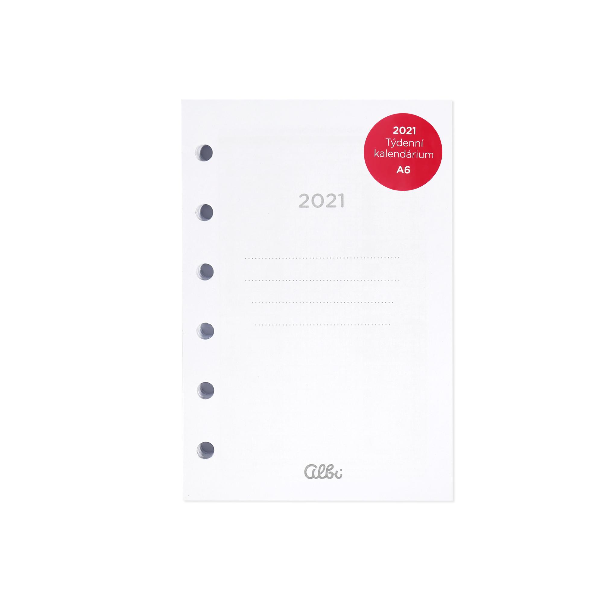 Kalendárium 2022 pro Manažerský Albi diář A6