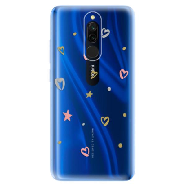 Odolné silikonové pouzdro iSaprio - Lovely Pattern - Xiaomi Redmi 8