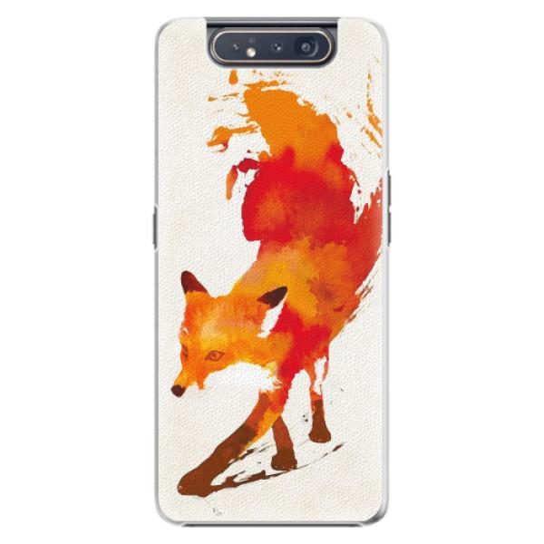 Plastové pouzdro iSaprio - Fast Fox - Samsung Galaxy A80