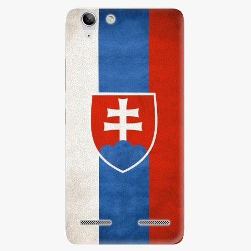 Plastový kryt iSaprio - Slovakia Flag - Lenovo Vibe K5