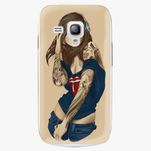 Plastový kryt iSaprio - Girl 03 - Samsung Galaxy S3 Mini