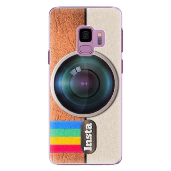 Plastové pouzdro iSaprio - Insta - Samsung Galaxy S9
