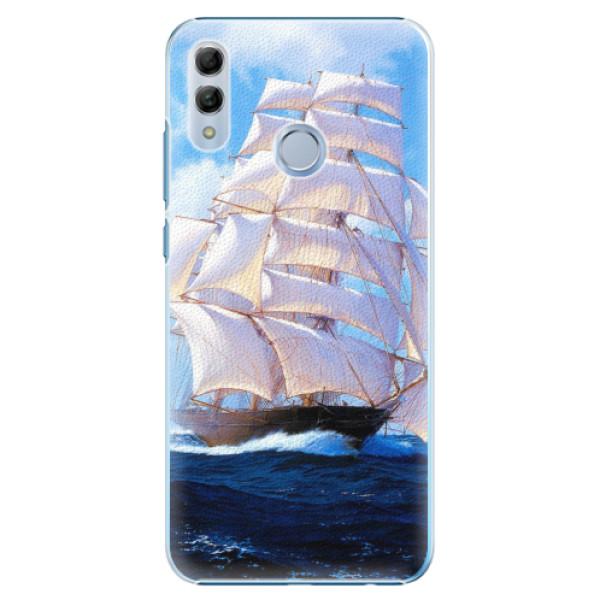 Plastové pouzdro iSaprio - Sailing Boat - Huawei Honor 10 Lite