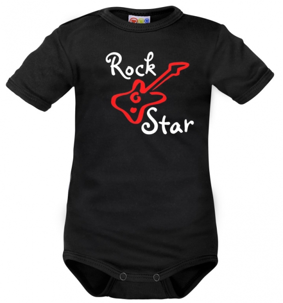 body-kratky-rukav-dejna-rock-star-cerne-62-2-3m