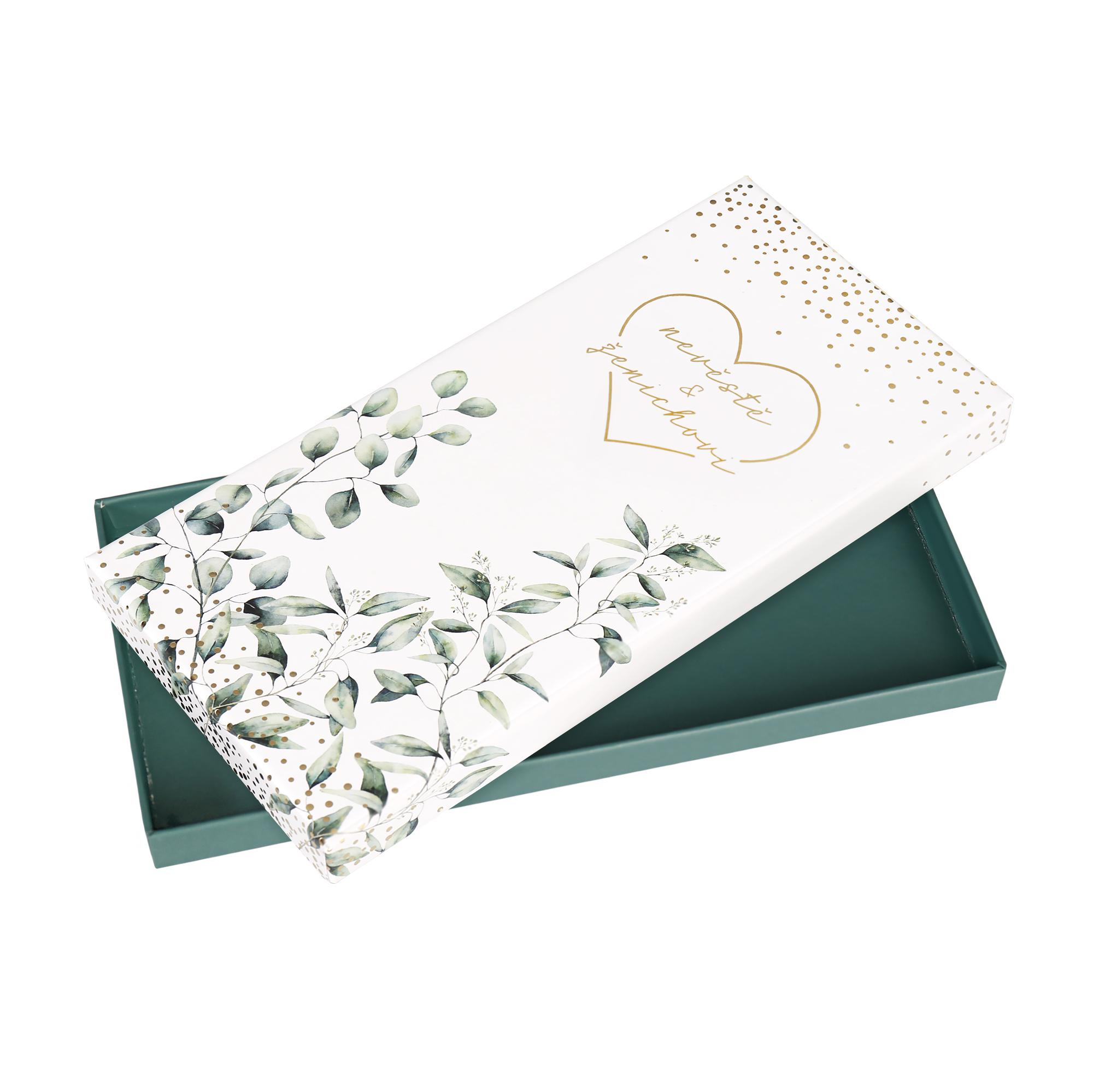 Dárková krabička - Listy