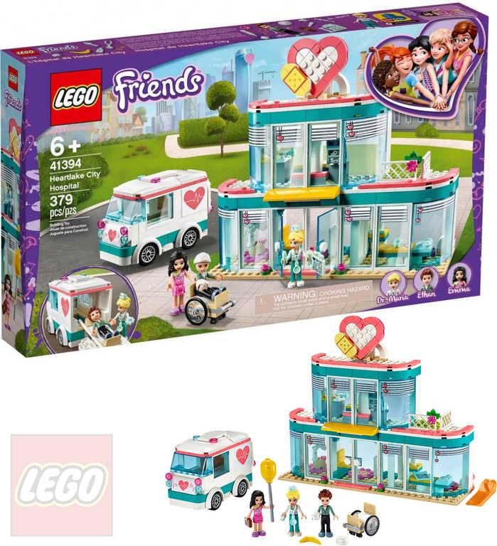 LEGO FRIENDS Nemocnice městečka Heartlake 41394 STAVEBNICE