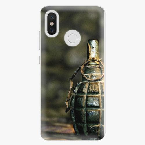 Plastový kryt iSaprio - Grenade - Xiaomi Mi 8