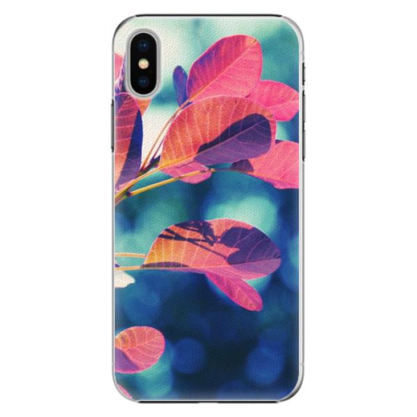 Plastové pouzdro iSaprio - Autumn 01 - iPhone X