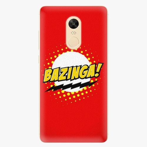 Plastový kryt iSaprio - Bazinga 01 - Xiaomi Redmi Note 4X