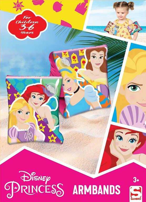 SAMBRO Rukávky nafukovací Disney Princezny plavací křidélka do vody