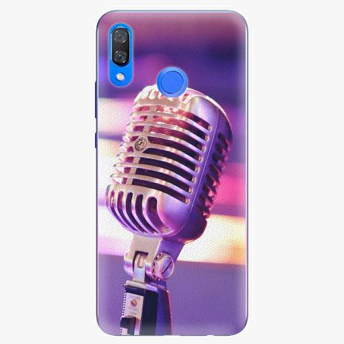 Plastový kryt iSaprio - Vintage Microphone - Huawei Y9 2019