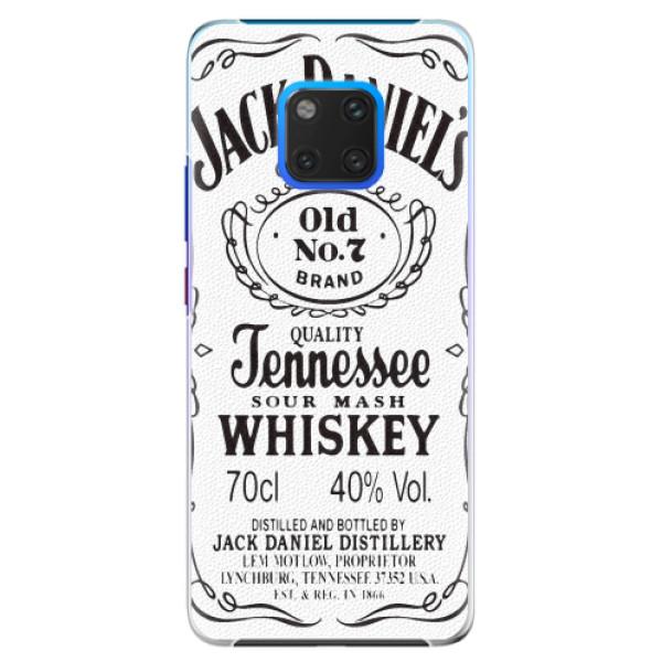 Plastové pouzdro iSaprio - Jack White - Huawei Mate 20 Pro