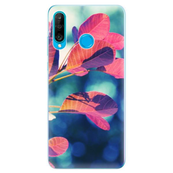 Odolné silikonové pouzdro iSaprio - Autumn 01 - Huawei P30 Lite