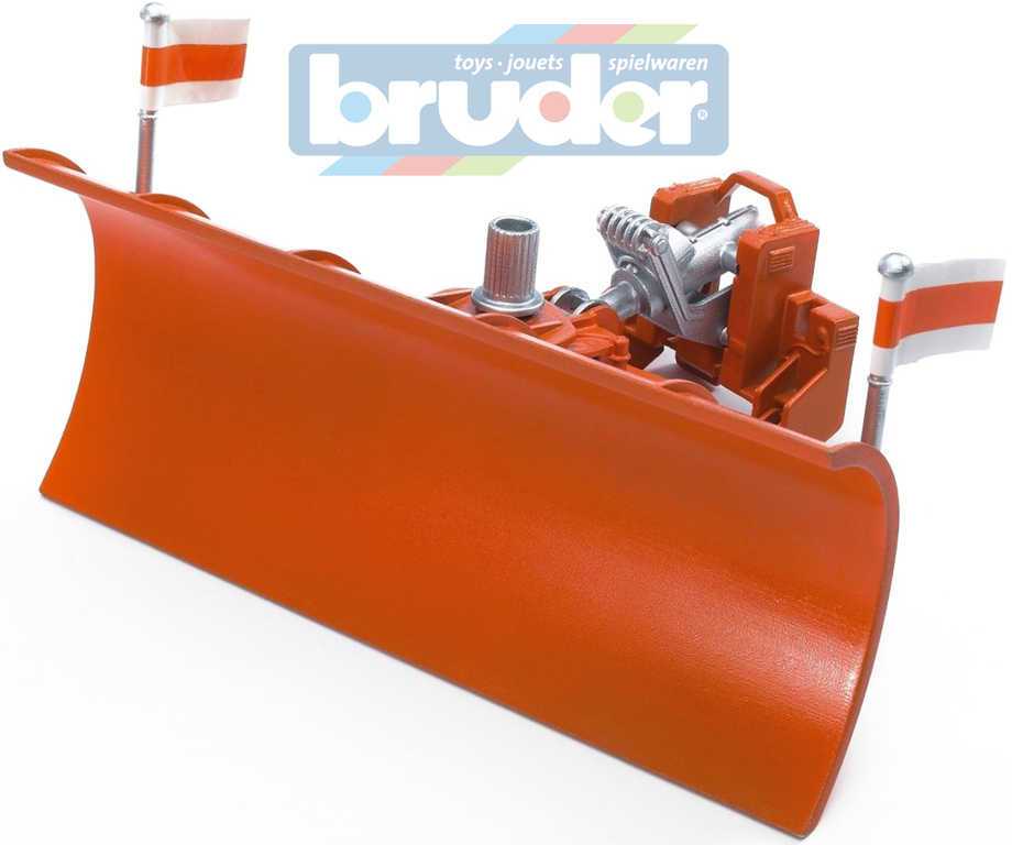 BRUDER 02582 (2582) Čelní radlice pro nákladní auta