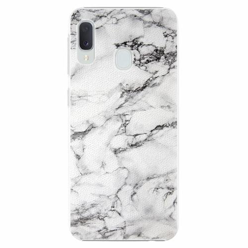 Plastový kryt iSaprio - White Marble 01 - Samsung Galaxy A20e