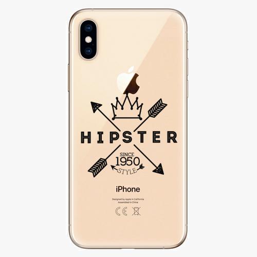 Silikonové pouzdro iSaprio - Hipster Style 02 - iPhone XS