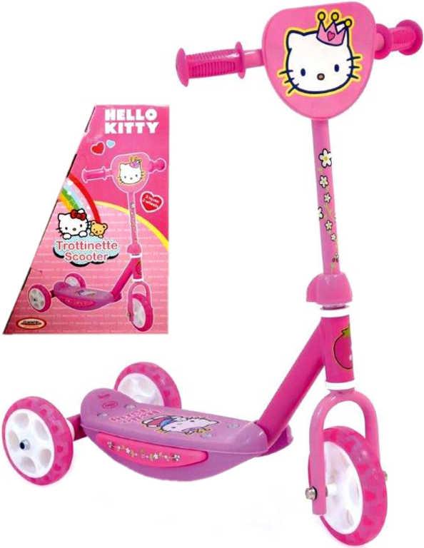 SEDCO Koloběžka dětská tříkolka 3 kola Spartan Hello Kitty 2 502