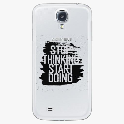 Plastový kryt iSaprio - Start Doing - black - Samsung Galaxy S4