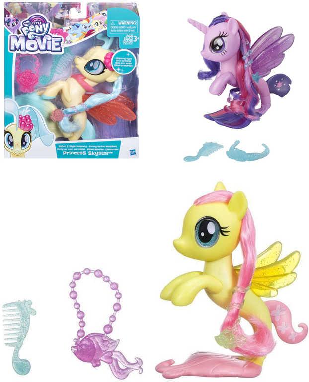 HASBRO MLP My Little Pony The Movie mořský koník set s doplňky různé druhy