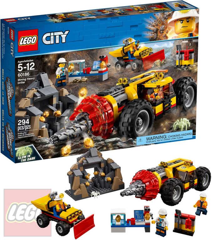 LEGO CITY Důlní těžební stroj 60186 STAVEBNICE