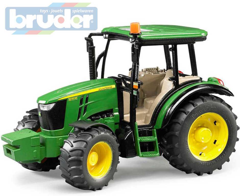 BRUDER 02106 (2106) Traktor John Deere 5115M zelený model 1:16 plast