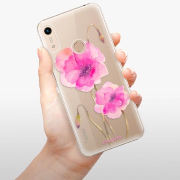 Plastové pouzdro iSaprio - Poppies 02 - Huawei Honor 8A