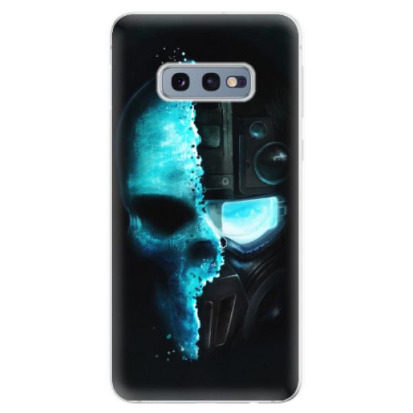 Odolné silikonové pouzdro iSaprio - Roboskull - Samsung Galaxy S10e