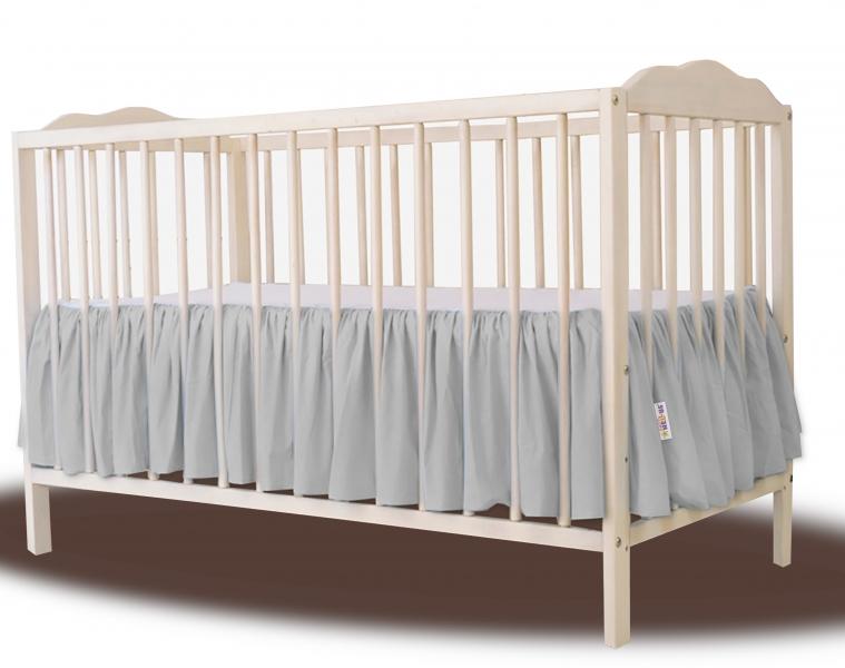 baby-nellys-bavlneny-volanek-pod-matraci-seda-120x60