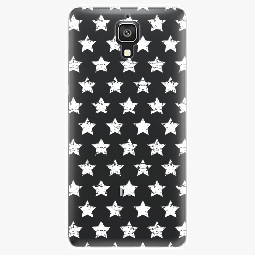 Plastový kryt iSaprio - Stars Pattern - white - Xiaomi Mi4