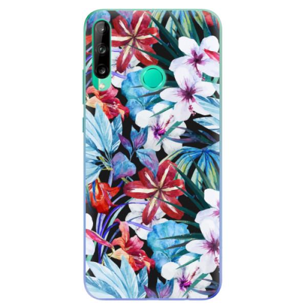 Odolné silikonové pouzdro iSaprio - Tropical Flowers 05 - Huawei P40 Lite E